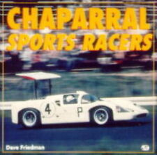 CHAPARRAL CAN AM AND PROTOTYPE CAR MOTOR RACING BOOK jm