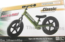 Strider Classic GREEN NO Pedal Free Child Kids Balance Bike Training STM4GN 12""