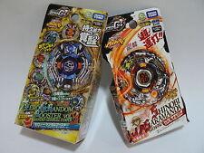 2pcs TAKARA TOMY Beyblade ZERO-G BBG23 Random Booster Vol.3 + BBG02 SHINOBI S