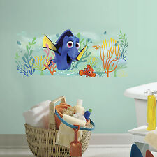 "39"" FINDING DORY AND NEMO GIANT WALL DECALS Disney Stickers Tropical Fish Decor"