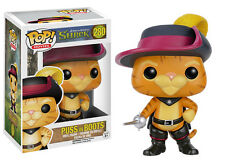 "DREAMWORKS SHREK - PUSS IN BOOTS 3.75"" POP VINYL FIGURE FUNKO 280 BRAND NEW"