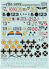 Print Scale 72-021 Decal for Messershmit Me-109 E 1:72