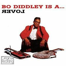 CD BO DIDDLEY IS A LOVER IS LOOSE NOT GUILTY HONG KONG MISSISSIPPI QUICK DRAW