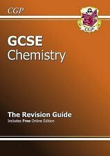 GCSE Chemistry Revision Guide (with Online Edition) by CGP Books (Paperback,...
