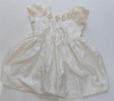 Se adapta a 8-9y Ladybird Crema Rough Efecto Seda Niñas Dama Del Vestido De Fiesta 18-24m