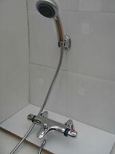 NUOVO PONTE termostatica bagno doccia Rubinetti, Doccia A Mano, staffa, 1.7 m di tubo flessibile Set 064d