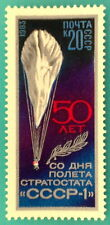 Russia (Soviet Union) USSR - 1983  Baloon Stratostat USSR-1 MNH Sc//5163
