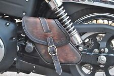 SWING ARM BAG SADDLE BAG  FOR HD DYNA STREET BOB, WIDE GLIDE ITALIAN QUALITY