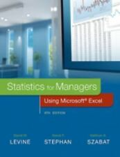 Statistics for Managers Using Microsoft Excel INSTRUCTOR'S REVIEW COPY by Levine