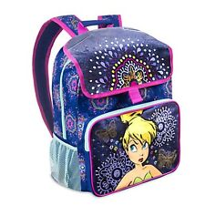 Girls Tink TINKER BELL LIGHTUP BACKPACK Child Book Lunch Bag Disney Store Fairy
