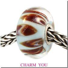 AUTHENTIC TROLLBEADS 61312 Aquarium Pastel Glass Bead