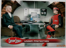 Captain scarlet-individuelle trading card #20, sous la protection-invincible