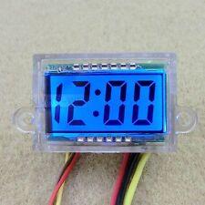 LCD Digital Uhr für Motorrad Motorräder - Blaue Backlight