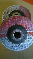 GRINDING DISCS 115MM X 6MM METAL PCK OF 10 EURO CUT BRAND
