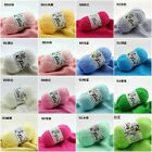 Wholesale! popular colors Super Soft Natural Smooth Bamboo Cotton Knitting Yarn!