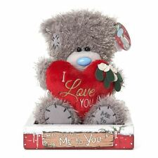 "Me to You 7"" Plush I Love You Christmas & Gift Box - Tatty Teddy Bear"
