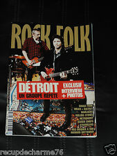 MAGAZINE ROCK & AND FOLK N° 560 AVRIL 2014 DETROIT SHAKA PONK ROLLING STONES
