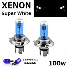 H4 100w SUPER WHITE XENON (472) Headlight BULBS 12v ULTRA BRIGHT HID ZENON XENON