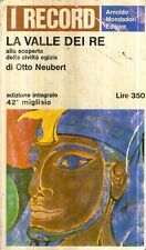 G9 La valle dei re Otto Neubert Record Mondadori 1966