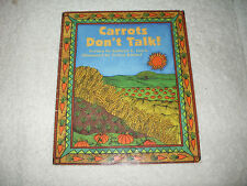Kids fun paperback:Carrots Don't Talk-hungry boy finds that carrots,dogs,talk??
