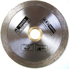 "4.5"" Standard Wet Cutting Continuous Rim Glass Tile Diamond Saw Blade"