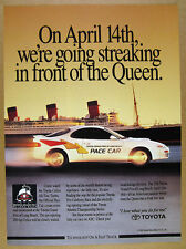 1991 Toyota Celica All-Trac Turbo Long Beach Grand Prix Pace Car photo print Ad