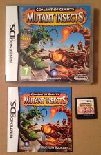Combat Of Giants Mutant Insects Game For Ds Dsi Ds Lite 3Ds Nintendo 99p UK P&P