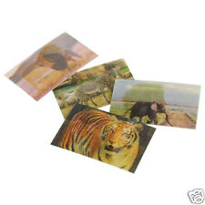 72 Wild Animal Lenticular Stickers Safari Jungle Party Goody Bag Favor Supply
