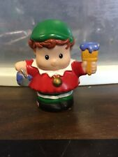 Fisher Price Little People Christmas Tree Train village Main Elf Green red blue