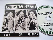 PALMA VIOLETS - BEST OF FRIENDS - VERY RARE CD *SIGNED*