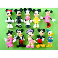 10 pcs Mickey Minnie Mouse Donald Duck Jewelry Making Figures Pendant + CHARM