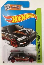 Hot Wheels 2015 JDM #197 HW Workshop Showdown JDM '90 Honda Civic EF Black MOSC