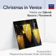 JOHN ELIOT/MONTEVERDI CHOIR GARDINER - CHRISTMAS IN VENICE (AUDIOR)  CD NEU