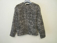 No.21 by Alessandro Dell'Acqua Animal Print Alpaca-Blend Sweater