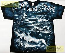 = t-shirt BISMARCK battleship Kriegsmarine / ALLPRINT -size L koszulka