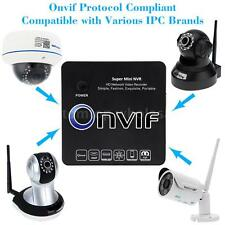 8CH Mini NVR IP Camera Recorder Surveillance P2P 2*USB 1080P/960P/720P HD U1M4