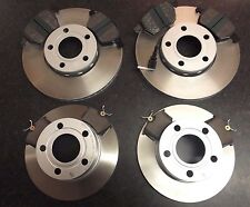 QUALITY JURATEK FRONT & REAR BRAKE DISCS AND PADS SKODA SUPERB (3U4) CHECK SIZES