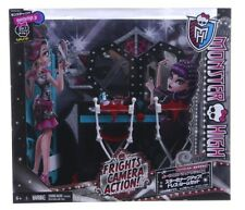 NEW OFFICIAL MONSTER HIGH DRESSING TABLE FRIGHTS CAMERA ACTION SCAREMESTER