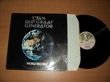 VAN DER GRAAF GENERATOR / WORLD RECORD (1976) LP rare !!!!