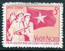 NORTH VIETNAM 1987 MILITARY STAMP MINT NEVER HINGED COMPLETE!