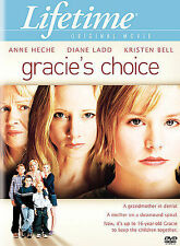 GRACIE'S CHOICE DVD LIFETIME ANNE HECHE DIANE LADD KRISTEN BELL LIKE NEW R1 RARE