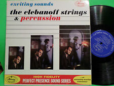 C 1965 LP CLEBANOFF STRINGS MERCURY PERFECT PRESENCE PPS 2012 VG++ VINYL RECORD