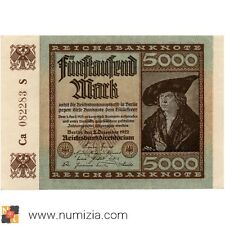 ALEMANIA 5000 Mark 1922 (EBC)
