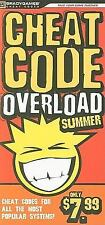 Cheat Code Overload Summer 2009, BradyGames, 0744011256, Book, Very Good