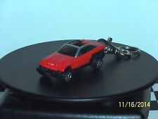 Hot Wheels: Custom Key Chain, RED/BLACK Jeep Jeepster 1:64