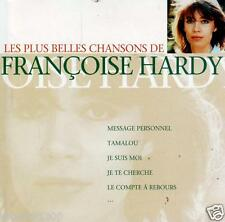 CD audio.../...FRANCOISE HARDY.../...LES PLUS BELLES CHANSONS DE FRANCOISE HARDY