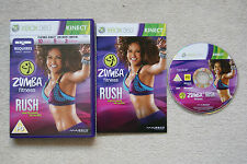 Zumba Fitness Rush Xbox 360 Game Kinect - 1st Class FREE UK POSTAGE