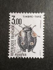 FRANCE 1983, timbre TAXE 111, INSECTES, ADELIA ALPINA, oblitéré
