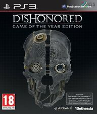Dishonored Game Of The Year Slipcase Edition PS3 GOTY * NEW SEALED PAL *