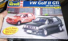 Revell VOLKSWAGEN VW Golf II GTi TUNER 1/25 Model Car Mountain KIT FS